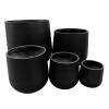 Line 2.3 – Stonelite – Bung Planter – Charcoal – 81050