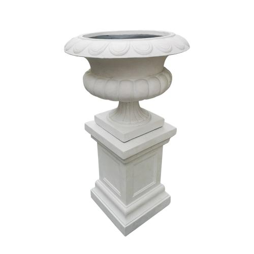 Stonelite-urn-81111and81112-White