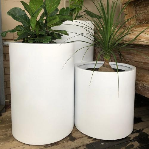 StoneLite-Cylinder-Cluster-56-White-Pots